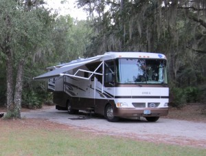Camping in Stephen Foster State Park
